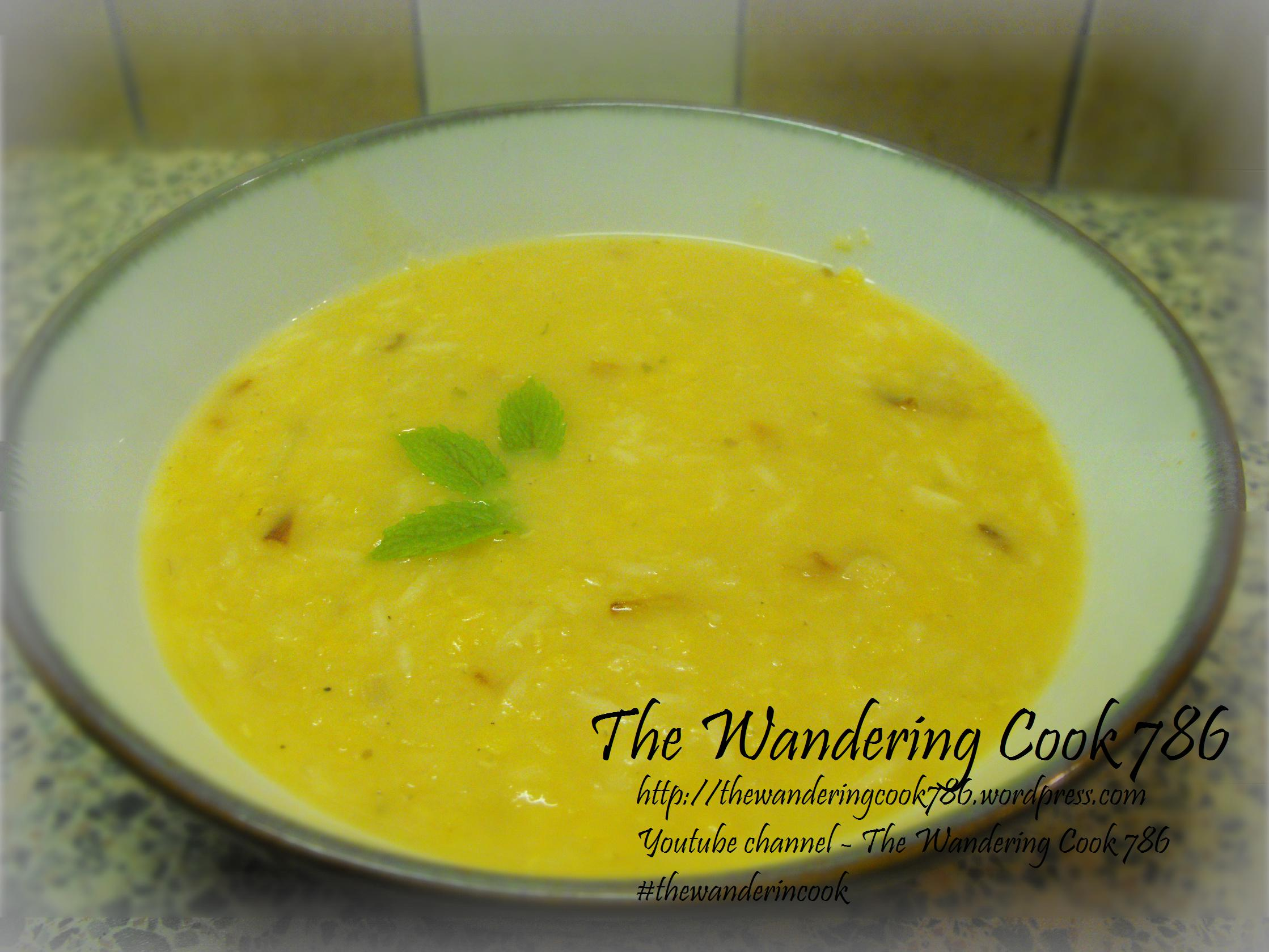 Simple and quick turkish lentil soup recipe mercimek orbas the advertisements forumfinder Images