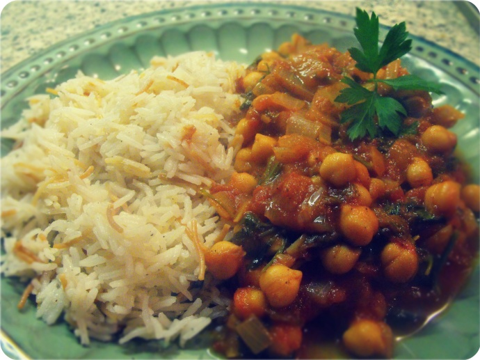 Chickpea curry22